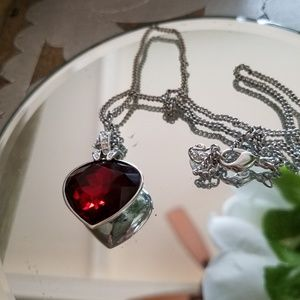 Authentic Swarovski Heart pendant